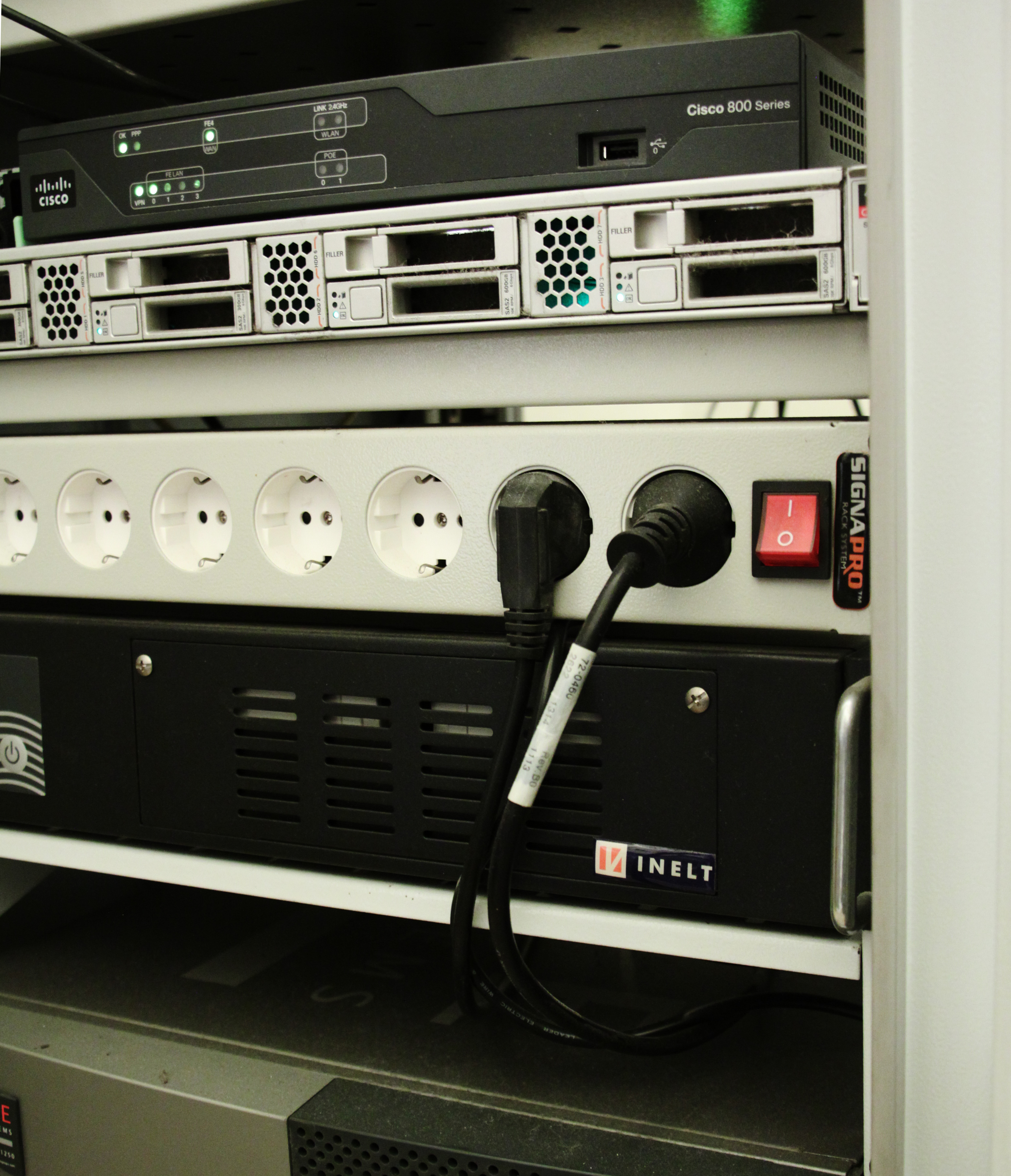 Применение ИБП Inelt на реальном оборудовании